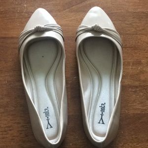 Nude Flats Size 10w
